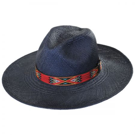 Indio Panama Straw Fedora Hat alternate view 1