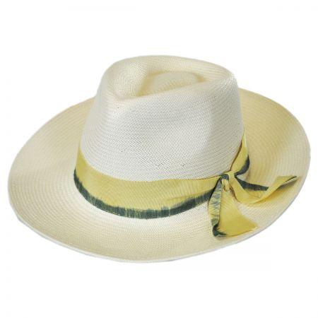 Kape May Shantung Straw Fedora Hat