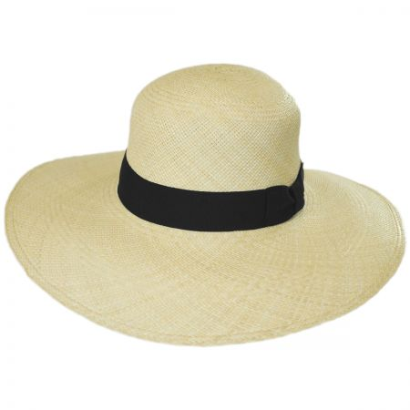 Brooklyn Hat Co Brisbane Panama Straw Swinger Hat