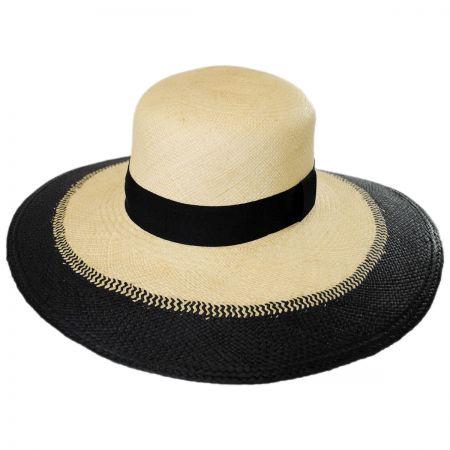 Brooklyn Hat Co York Beach Panama Straw Swinger Hat