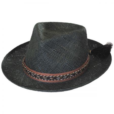 Brooklyn Hat Co Venice Bao Straw Fedora Hat