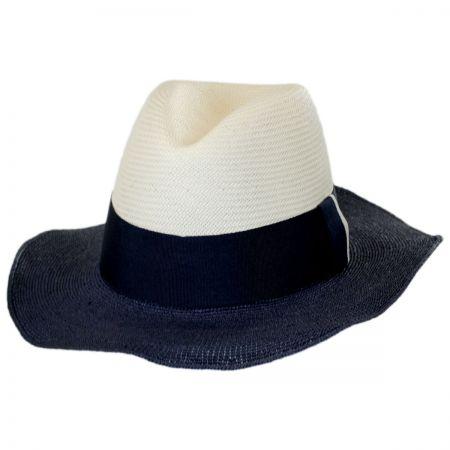 Positano Toyo Straw Blend Fedora Hat