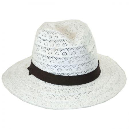Brooklyn Hat Co Lace Safari Fedora Hat