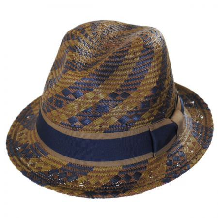 Brooklyn Hat Co Kensington Toyo Straw Fedora Hat