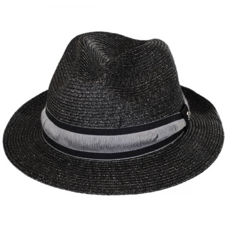 Brooklyn Hat Co Jericho Toyo Straw Fedora Hat