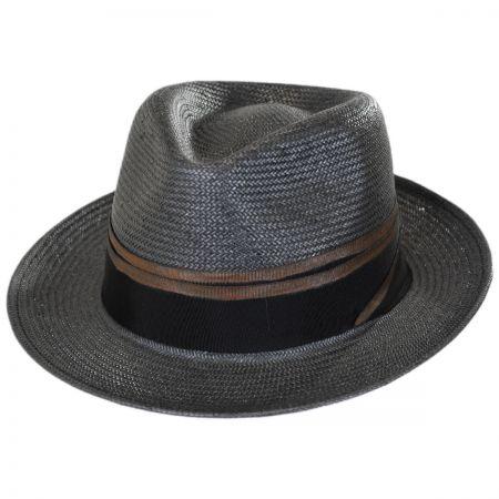 Brooklyn Hat Co Tribeca Toyo Straw Fedora Hat