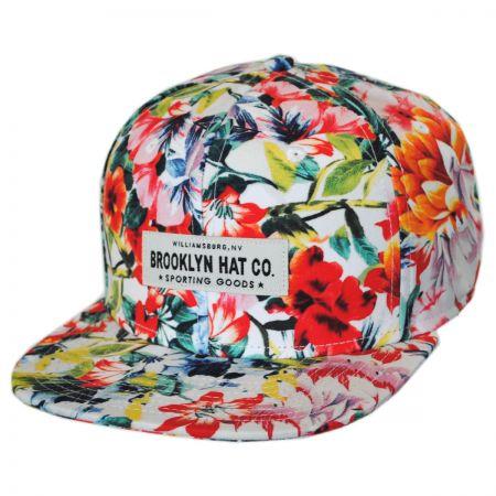 Brooklyn Hat Co Tres Flores Snapback Baseball Cap