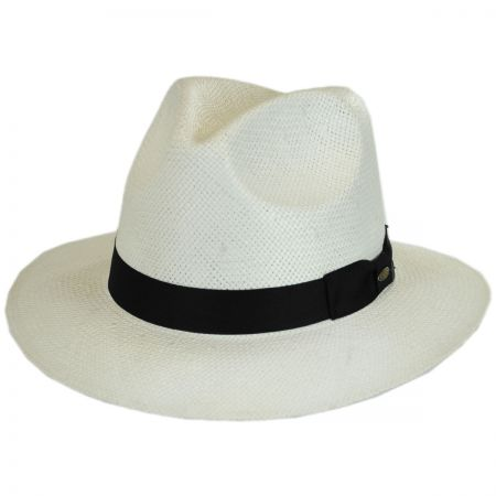 Toyo Straw Safari Fedora Hat