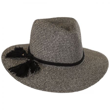 Physician Endorsed Taylor Toyo Straw Fedora Hat