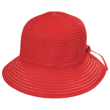 Physician Endorsed Mae Rollable Straw Cloche Hat