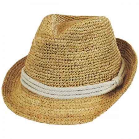 Marin Raffia Straw Fedora Hat alternate view 7