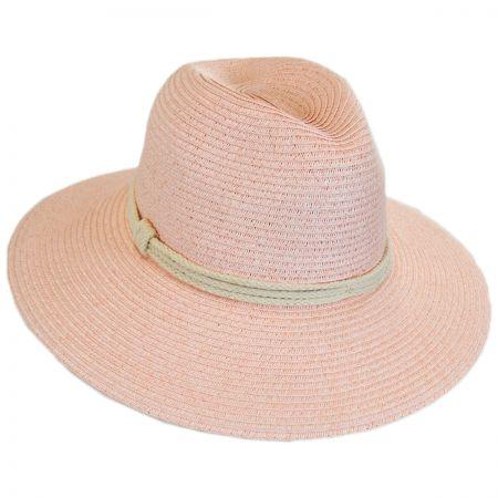 b8003913a1f6c ale by Alessandra Mariella Toyo Straw Fedora Hat