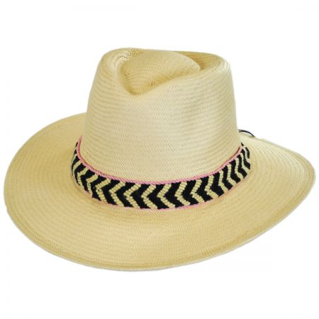 Cartagena Toyo Straw Fedora Hat alternate view 1