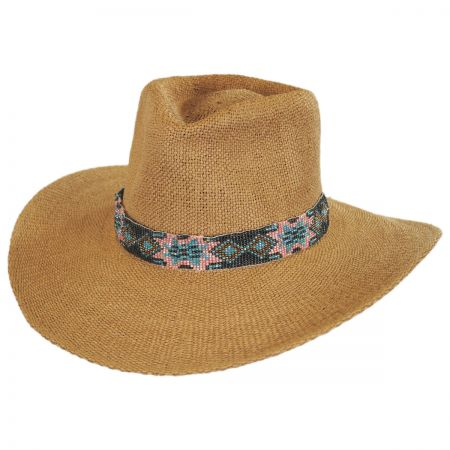 ale by Alessandra Dylan Toyo Straw Fedora Hat