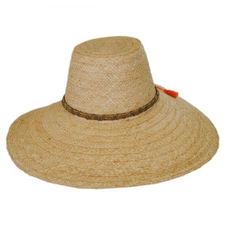 Palapa Raffia Straw Wide Brim Sun Hat alternate view 1