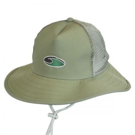 Dorfman Pacific Company Supplex Mesh Trucker Booney Hat