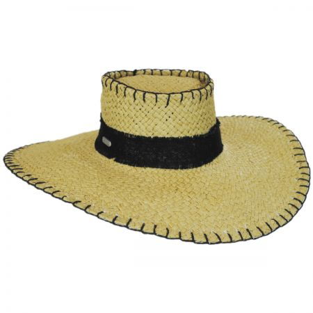 Straw Boater Hat at Village Hat Shop 5e620c1be79