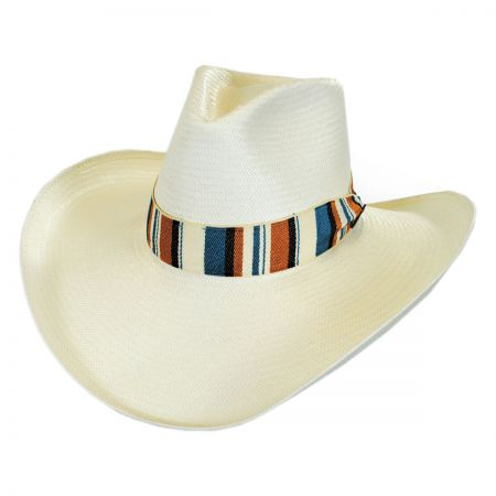 Stetson Baby Don't Go Shantung Straw Western Hat