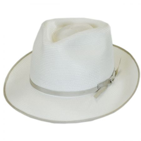 Stratoliner Milan Straw Fedora Hat alternate view 17