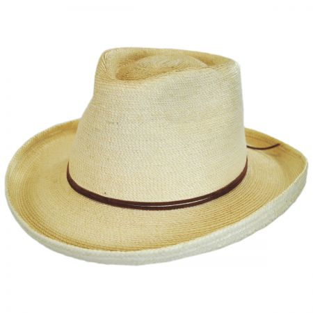 Outlaw Guatemalan Palm Leaf Straw Hat alternate view 1