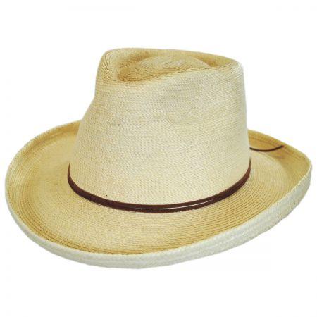 Outlaw Guatemalan Palm Leaf Straw Hat