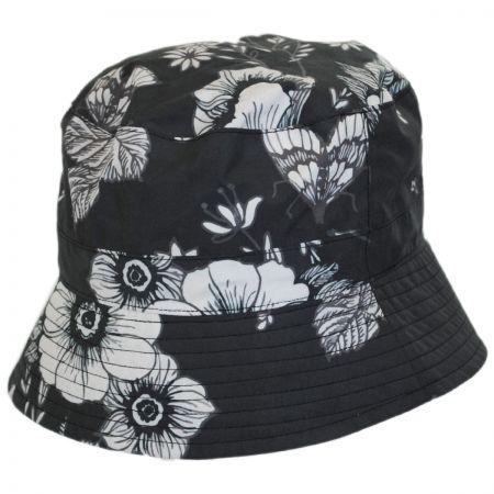 San Diego Hat Company Floral Rain Bucket Hat