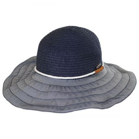 Rope Trim Ribbon Floppy Hat