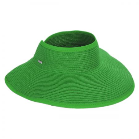 Green Straw at Village Hat Shop 0eac22510