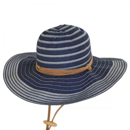 Ribbon Floppy Chincord Sun Hat alternate view 6