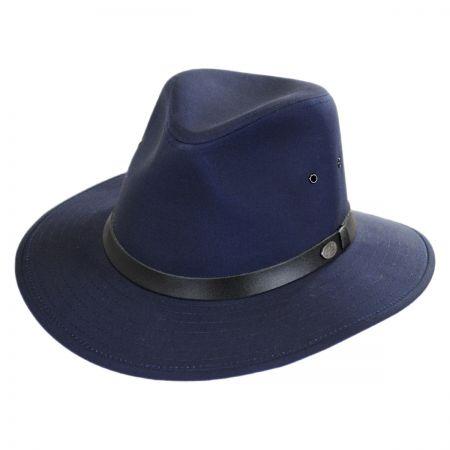 Dalton Cotton Blend Rain Fedora Hat alternate view 9