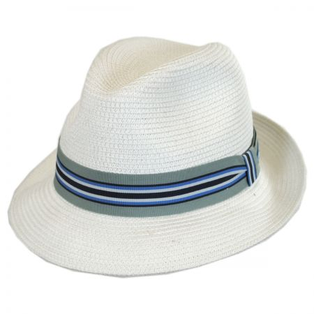 Salem Braided Toyo Straw Fedora Hat alternate view 13