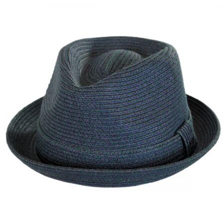 Billy Toyo Straw Braid Fedora Hat alternate view 41