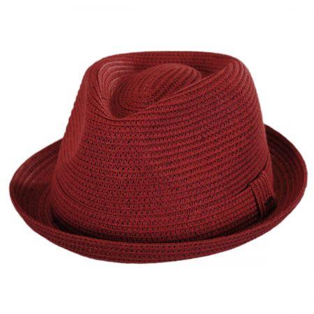 Billy Toyo Straw Braid Fedora Hat alternate view 42
