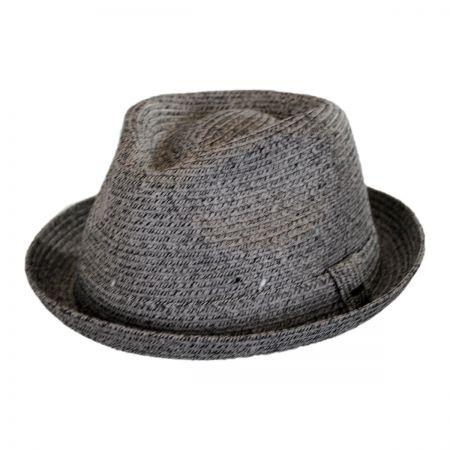 Billy Toyo Straw Braid Fedora Hat alternate view 58