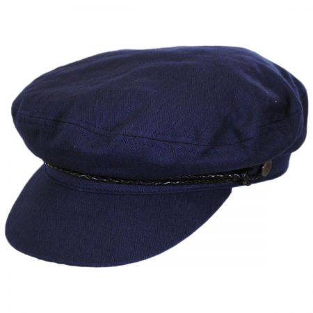 Ashland Herringbone Cotton Fiddler Cap