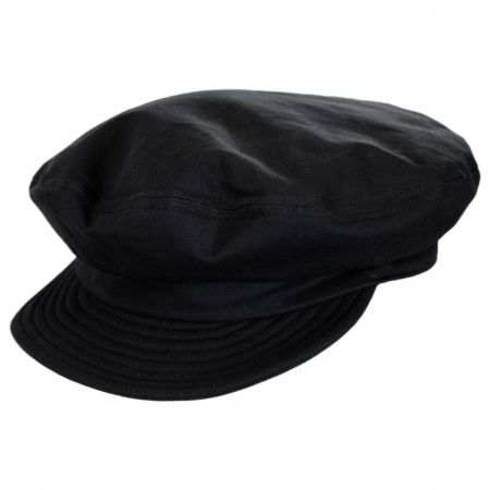 Unstructured Cotton Fiddler Cap alternate view 64