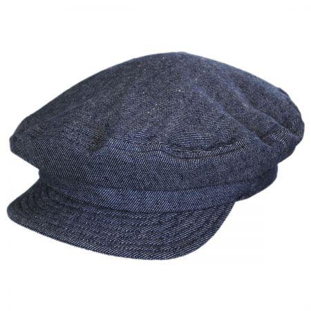 Unstructured Linen and Cotton Fiddler Cap alternate view 1
