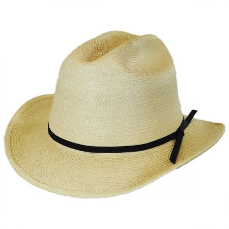 SunBody Hats Open Road Guatemalan Palm Leaf Straw Hat