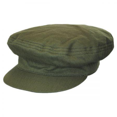 Brixton Hats Kids' Linen and Cotton Fiddler Cap
