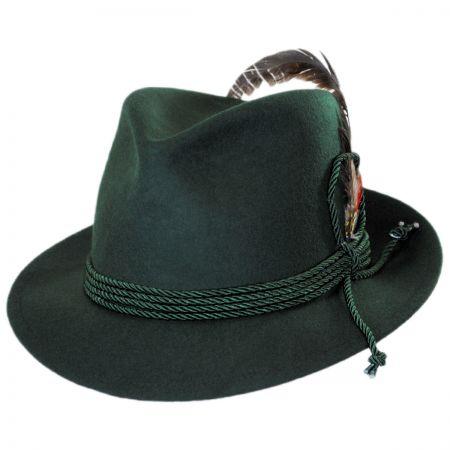 Jaxon Hats Made in the USA - Classics Bavarian Wool Felt Hat