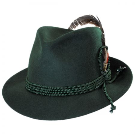 Jaxon Hats Made in the USA - Classics Bavarian Wool Felt Hat