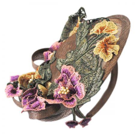 Jeanne Simmons Floral Dish Fascinator Headband