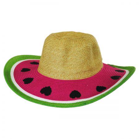 Kids' Summer Fun Toyo Straw Sun Hat alternate view 9