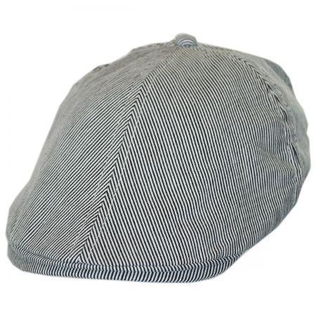 Jeanne Simmons Kids' Pinstripe Cotton Duckbill Cap