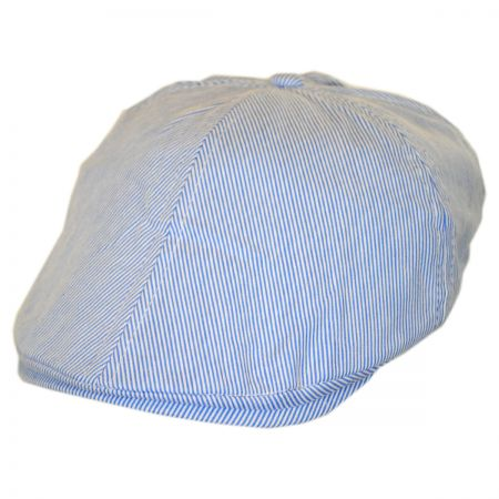 Kids' Pinstripe Cotton Duckbill Cap