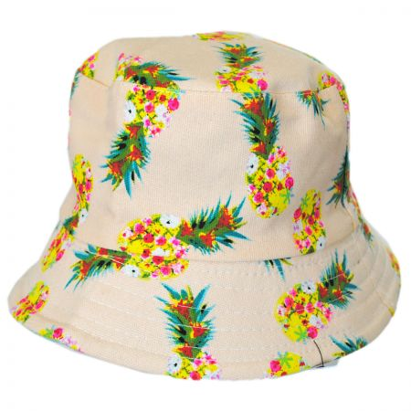 Jeanne Simmons Kids' Pineapple Bucket Hat