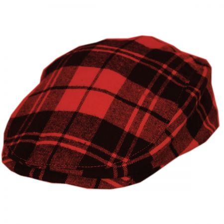 Red Flat Cap at Village Hat Shop 161a4772ce1