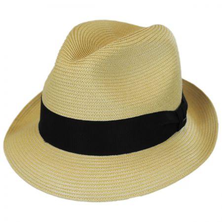 Craig Straw Fedora Hat alternate view 5