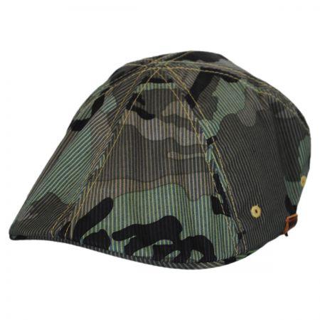 Kangol Flexfit Camo 504 Duckbill Ivy Cap