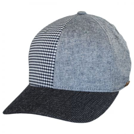Flexfit Patchwork Fitted Baseball Cap alternate view 1